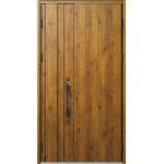 断熱玄関ドア ヴェナート D30 N08 親子 子扉:K02 BE 丸型ストレート ブラック | YKK AP(株)